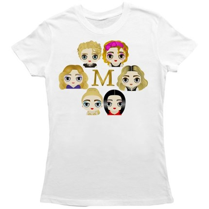 camiseta madonna, madonna, like a virgin