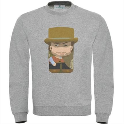 sudadera clint eastwood, jersey clint eastwood, clint eastwood, los tukis