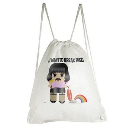 Freddie Mercury,  bolsa freddie Mercury, bolsa algodón, i want to break free