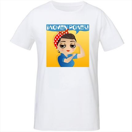 camiseta women power